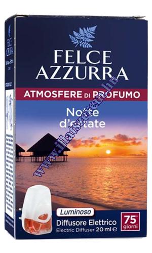 Felce Azzurra elektromos légfrissítő - atmosfere di profumo - Notte d estate - nyári éjszaka
