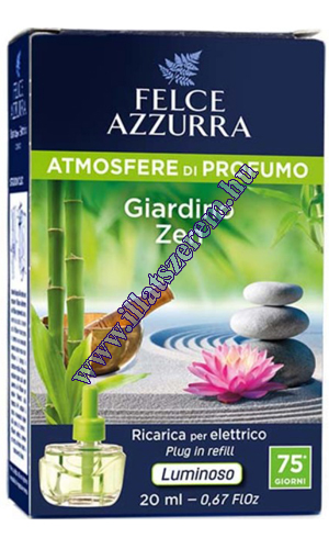 Felce Azzurra elektromos légfrissítő utántöltő - atmosfere di profumo - Giardino zen - Zen 20 ml