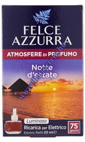Felce Azzurra elektromos légfrissítő utántöltő - atmosfere di profumo - Notte d estate - nyári éjsza