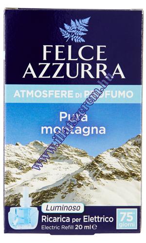 Felce Azzurra elektromos légfrissítő utántöltő - atmosfere di profumo - Pura montagna - hegyi levegő