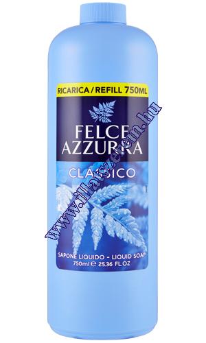 Felce Azzurra folyékony szappan utántöltő Classico 750 ml