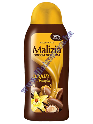 Malizia női tusfürdő - Argan e Vaniglia 300 ml