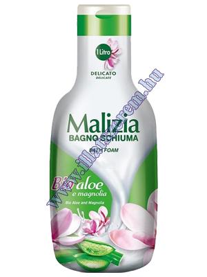 Malizia Profumo habfürdő - Bio Aloe és Magnolia 1000 ml